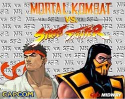 Imagem Mortal Kombat vs Street Fighter