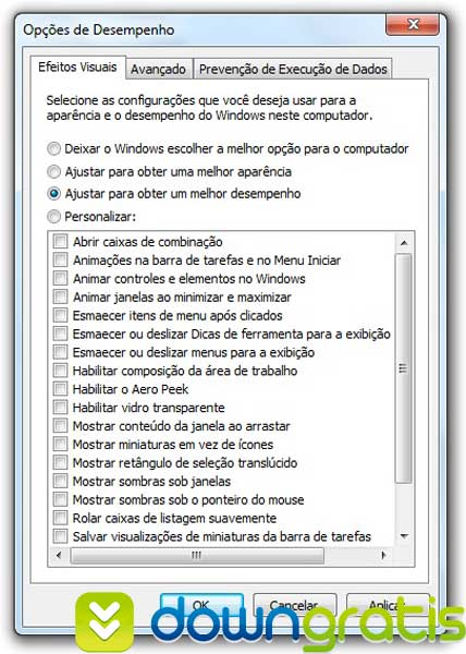 AERO do Windows 7 mais leve