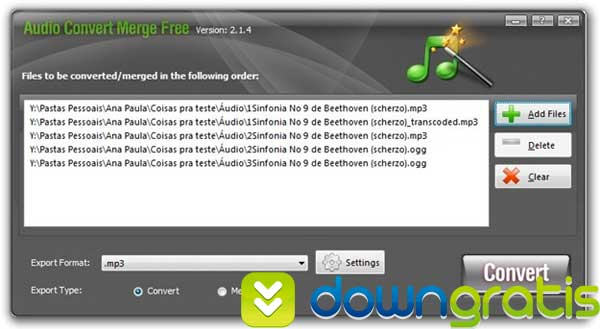 Audio Convert Merge Free