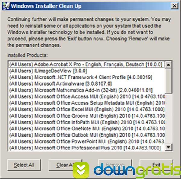 windows-installer-cleanup
