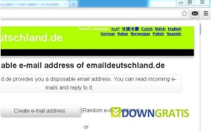 emaildeutschland.de-Disposable-eMail-Address