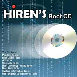 Hiren's Boot Cd – CD de diagnóstico e reparos