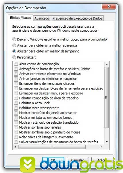 AERO do Windows 7 mais leve