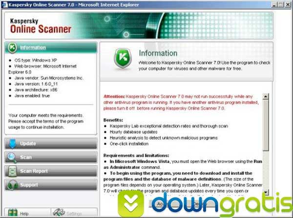Kaspersky Online Scanner