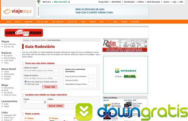 Guia rodoviário online