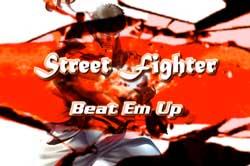Street Fighter Beat 'em Up – Jogo de luta