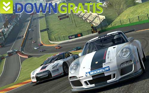 Tela do real racing 3