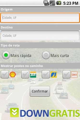 Tela do Maplink