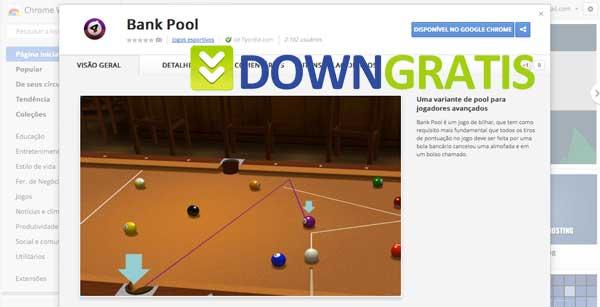 Tela do bank pool