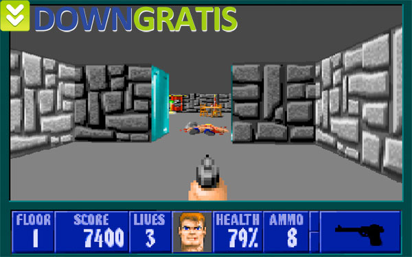 Tela do Wolfenstein 3D