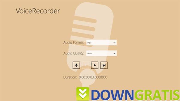 Tela do My Voice Recorder