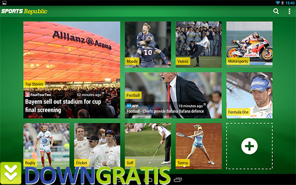 Tela do Sports Republic