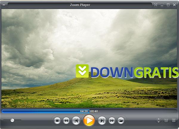 Tela do Zoom Player Home
