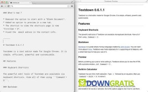 Textdown